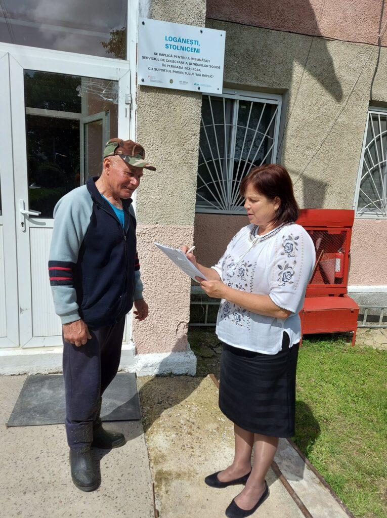 Satele Logănești și Stolniceni împreună vor crea un serviciu comunal modern de evacuare a deșeurilor