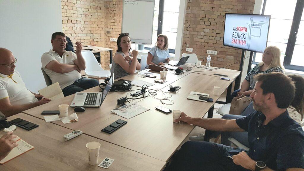 Proiectul Mă Implic a vizitat proiectul DESPRO pentru a afla despre experiența ucraineană în implementarea reformei descentralizării