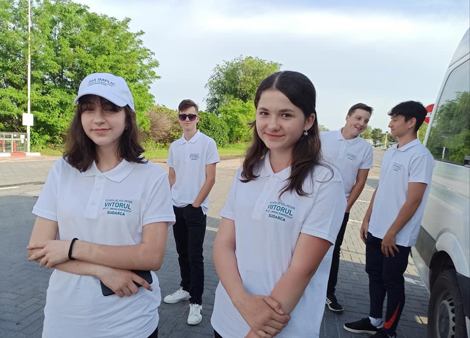 Echipa de Inițiativă Comunitară din comuna Sudarcă în vizită la Fălești și Sărata Veche pentru a prelua bune practici în domeniul managementului deșeurilor solide
